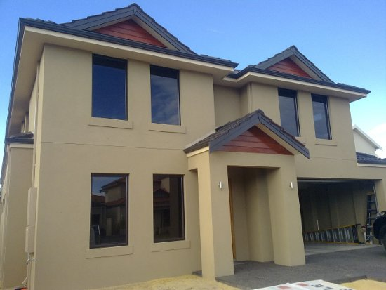 Plastering perth acratex colours - Painting exterior render model ...